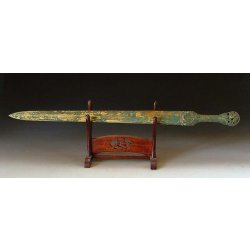 Spring&Autumn Period Gilt Bronze Sword