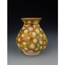 Tang Dynasty Tri-colored Pottery Vase