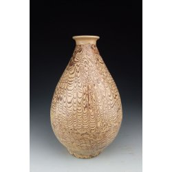 One Clay-Twisted Pottery Yuhuchun Vase Tang Dynasty